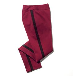 mark Fit Right In Skinny Pants- with tuxedo stripes positioned to add a touch of class to all types of pants this season, we lined up this comfy pair, in a super-hot wine hue. Shop online at tashina.avonrepresentative.com