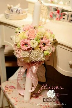 Flower Decorations, Table Decorations, Home Decor, Floral Decorations, Decoration Home, Room Decor, Floral Headdress, Home Interior Design, Dinner Table Decorations