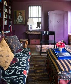 12 Purple Rooms to Inspire Your Decorating