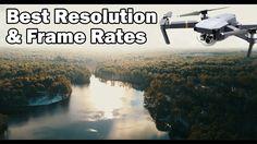 Best Video Settings (Res/FPS) - DJI Mavic Pro https://www.camerasdirect.com.au/dji-drones-osmo/dji-mavic-pro