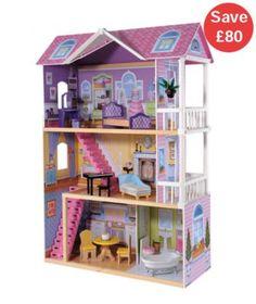 Dolls' Houses & Furniture | Rosebud House & Wooden Doll Houses | ELC sale £80 1/2 price