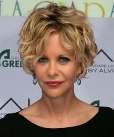 Short Styles for Curly Hair Styles courts pour cheveux bouclés Meg Ryan Hairstyles, Short Spiky Hairstyles, Top Hairstyles, Straight Hairstyles, Meg Ryan Haircuts, Shaggy Haircuts, Simple Hairstyles, Hairstyle Short, Medium Hairstyles