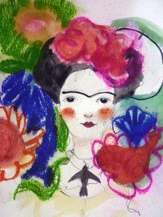 #Frida #Art #painting