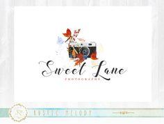 Photography Logo Design, Wedding Logo ,Boutique Logo, Bird Logo ,Decor Logo ,Camera Logo Design ,Watercolor Logo ,Floral Logo, Watermark