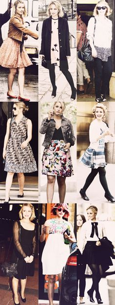 dianna agron & favorite casual outfits