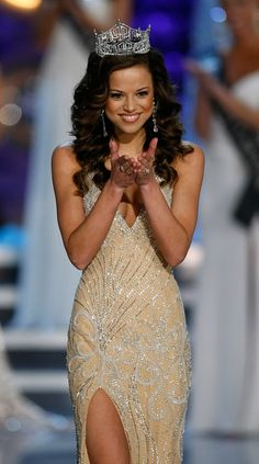 Katie Stam ~ Miss Indiana and 2009 Miss America. My favorite Miss America