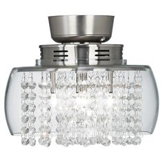 "Possini Euro Design Crystal 11"" Round Ceiling Fan Light Kit - Ceiling Fan Remote Control Kit - Amazon.com"