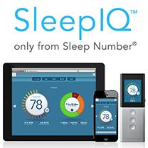 Sleep Number SleepIQ Technology. I really wanted this one. A few friends and even Sis got this. Now they tease me about it. LOL