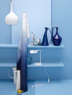 Blau Und Weiß Sind Ein Unschlagbares Doppel. Der Lichte Ton Tut Blau Gut  Und Unterstützt
