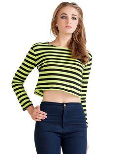 Stylish Long Sleeve T-Shirt For Women #tshirt #tee #style