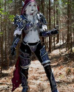 Sorry about my absence, first day at work went well. Got off early so I had time to work on my next cosplay :) Here's some Sylvanas to compensate Cosplay Anime, Cosplay Elf, Best Cosplay, Cosplay Girls, Steampunk Cosplay, Fantasy Art Women, Fantasy Girl, Lady Sylvanas, Sylvanas Windrunner