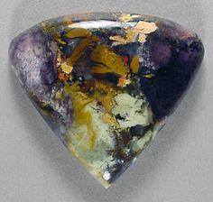 Opalite..sometimes known as Bertrandite, Tiffany Stone, Ice Cream Opal and even Purple Passion (Brush-Wellman Mine in Utah)