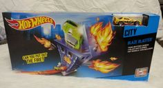 HOT WHEELS CITY BLAZE BLASTER TRACK SET W/CAR NEW! FREE SHIPPING! | Toys & Hobbies, Diecast & Toy Vehicles, Play Sets | eBay!