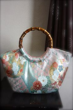 Kimono / Obi / Bag / LB531 Beautiful Japanese by RummyHandmade, $55.00
