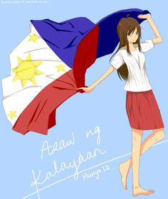 Araw ng Kalayaan by on - Independence Day Independence Day Pictures, Happy Independence Day, Hetalia Philippines, Filipino Art, Telegram Stickers, Tumblr Backgrounds, Country Art, I Love To Laugh, Me Me Me Anime