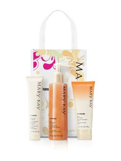 Pre-vacation exfoliation with a travel-sized hand cream and softener! Mary Kay Satin Hands Set - http://fw.to/UmcC5cj
