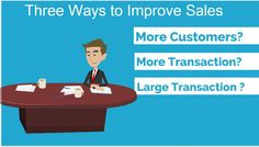 Three Ways to Improve Sales - Cloudbooksapp Existing Customer, Accounting Software, Time Management Tips, Third Way, Web Application, Create, Business, Blog, Blogging