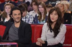 Olivier Sitruk et Mylène Jampanoï