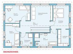 Hanse Haus Variant 25-192 Grundriss OG