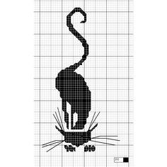 Gallery.ru / Фото #203 - Кошки (схемы) 2 - Olgakam