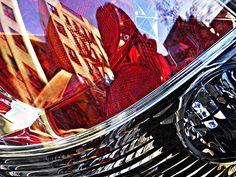 Brake Light 54 by Sarah Loft at Fine Art America