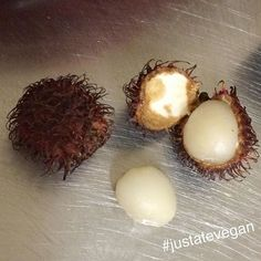 In case you've never seen inside a rambutan... There's a delicious lychee type fruit inside  #tropical #raw #organic #healthy #vegan #vegangram #veganshare #healthylife #vegansofig #vegetarian #glutenfree #dairyfree  #healthyeating #healthyliving #eatwell #eathealthy #eatcolourful #cleaneats #plantbased  #fitspo #fitfood #fitfam #foodporn #whatveganseat #fitness #instafit #nutritious #food #justatevegan