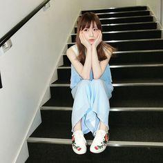 WEBSTA @ yukakokurosaka0606 -  水色坂さん(緑の時忘れてた…) 旭山動物園行きたかった(´ω`) アザラシ…(´ω`) 黒坂さんは丸みを帯びた子が好き(´ω`) #ゆかこーで #laymee #gucci  #nine