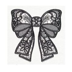 60 Sexiest Tattoo Designs for Girls Black Lacy Bow Tattoo Design Trendy Tattoos, Sexy Tattoos, Cute Tattoos, Beautiful Tattoos, Body Art Tattoos, Sleeve Tattoos, Heart Tattoos, Rosary Tattoos, Skull Tattoos