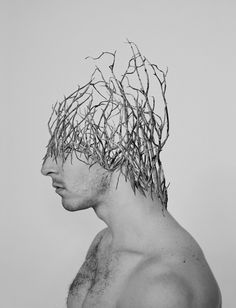 Thought-Provoking Photo Collage That Combine the Human Body with Nature by Alexandra Bellissimo