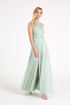 Frock+and+Frill+Sequin+Embellished+Bodice+Maxi+Dress