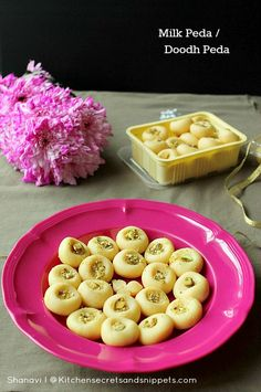 Kitchen Secrets and Snippets: Milk Peda / Doodh Peda - To celebrate the occasion