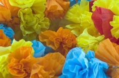 Mexican style crepe paper flowersgorgeous creative jewish mom how to make mexican crepe paper flowers mightylinksfo