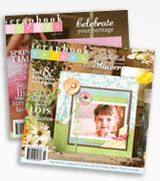 Scrapbook Trends magazine