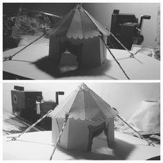 little tent in circus krikri.