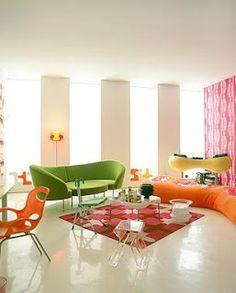 Karim Rashid's living room
