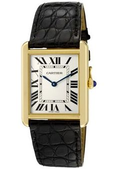 Cartier.  Lovely classic look that never dates.