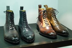 Gorgeous Balmoral Boots www.theshoesnobblog.com