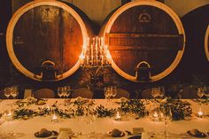 Adega Regional Colares - Wedding Venue | Sintra | Destination Wedding | Portugal | Table Setting | Table Centerpieces | Table Decoration | Madalena Tavares Photography
