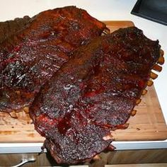 Not Your Every Day Smoked Pork Spare Ribs Allrecipes.com