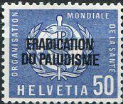Francobolli . Lotta contro la malaria - Malaria on Stamps Svizzera 1962