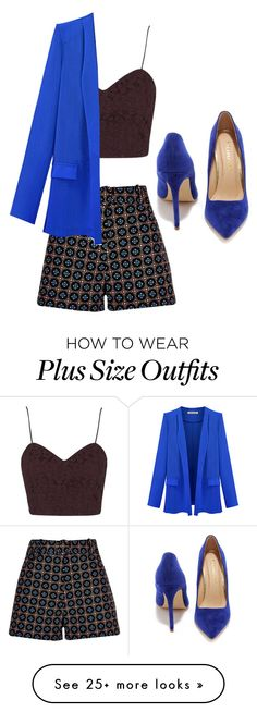 """""""Untitled #347"""" by lovedreamfashion on Polyvore featuring River Island, Topshop and Liliana"""