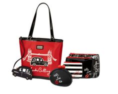 JCPenney teams up with British designer Lulu Guinness for holiday collection Lulu Guinness, Fashion Catalogue, Jenny Packham, Vivienne, Evening Bags, Kate Middleton, Purses And Bags, Diaper Bag, Fashion Accessories