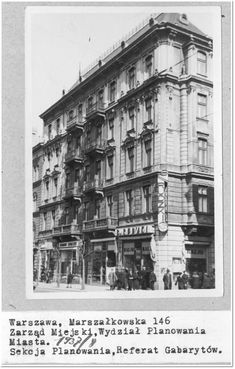 Warsaw, Wwii, Poland, Postcards, Buildings, Louvre, Lost, Black And White, City