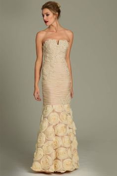 Jovani trumpet long gown