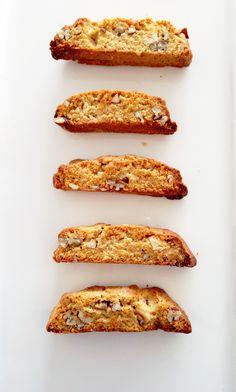 Sugar&Pies   Cantuccini's met witte chocolade en pecannoten