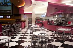 images of retro diners | Check Out the Retro Diner Feel of Pink's Hot Dogs