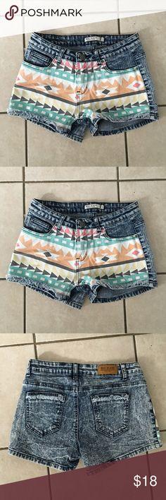 Iris Jeans Shorts Size M Excellent condition, 98% cotton , 2% spandex Iris Jeans Shorts