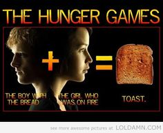 funny hunger games   funny Hunger Games poster toast