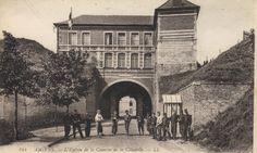 L'entrée de la citadelle
