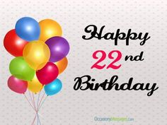Happy Birthday Wishes and Messages - Occasions Messages